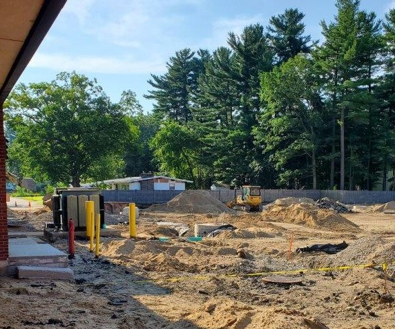 MES Parking Lot Reconstruction Update